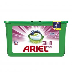 Ariel gel capsule Pods Touch of Lenor 39*29ml