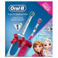 Periuta elctrica Oral B Cross Action + Vitality Kids Frozen
