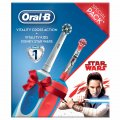 Periuta elctrica Oral B Cross Action + Vitality Kids Star Wars