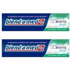 Blend-a-Med 3D White Extreme Mint Kiss 2x100ml