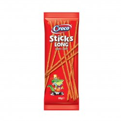 Croco Sticks cu sare 80g