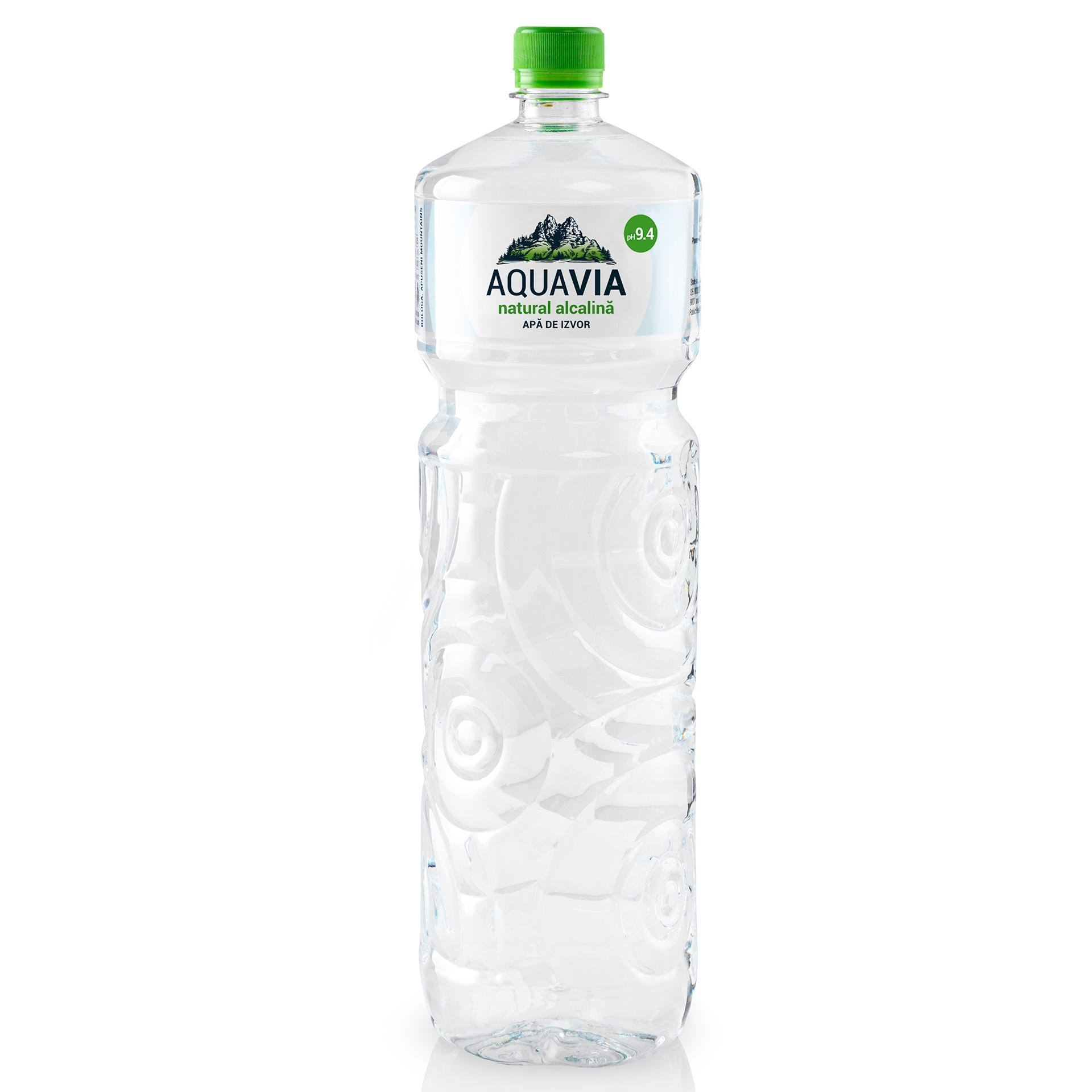 aquavia apa de izvor natural alcalina 9 4 ph 2l shopidoki
