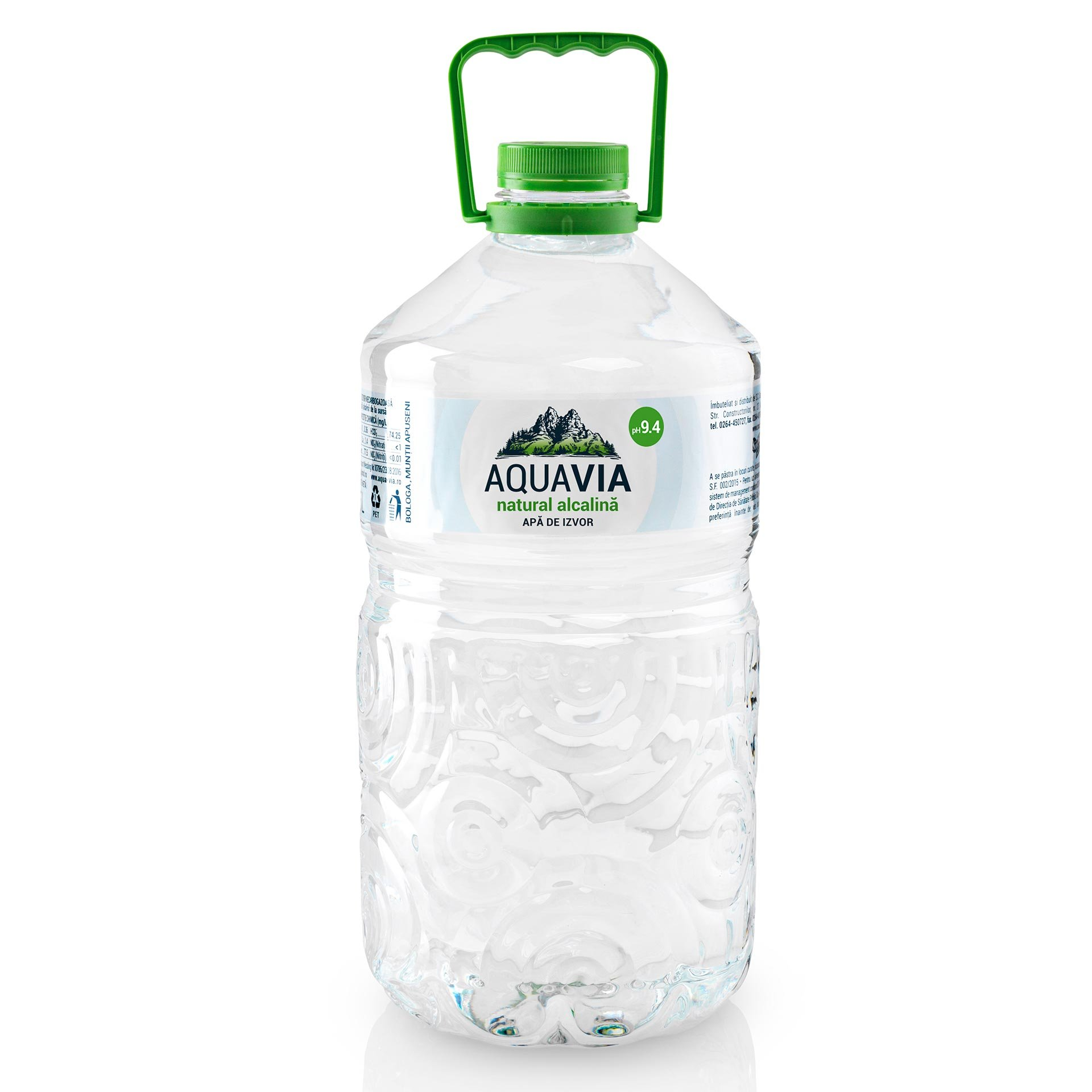 aquavia apa de izvor natural alcalina 9 4 ph 5l shopidoki