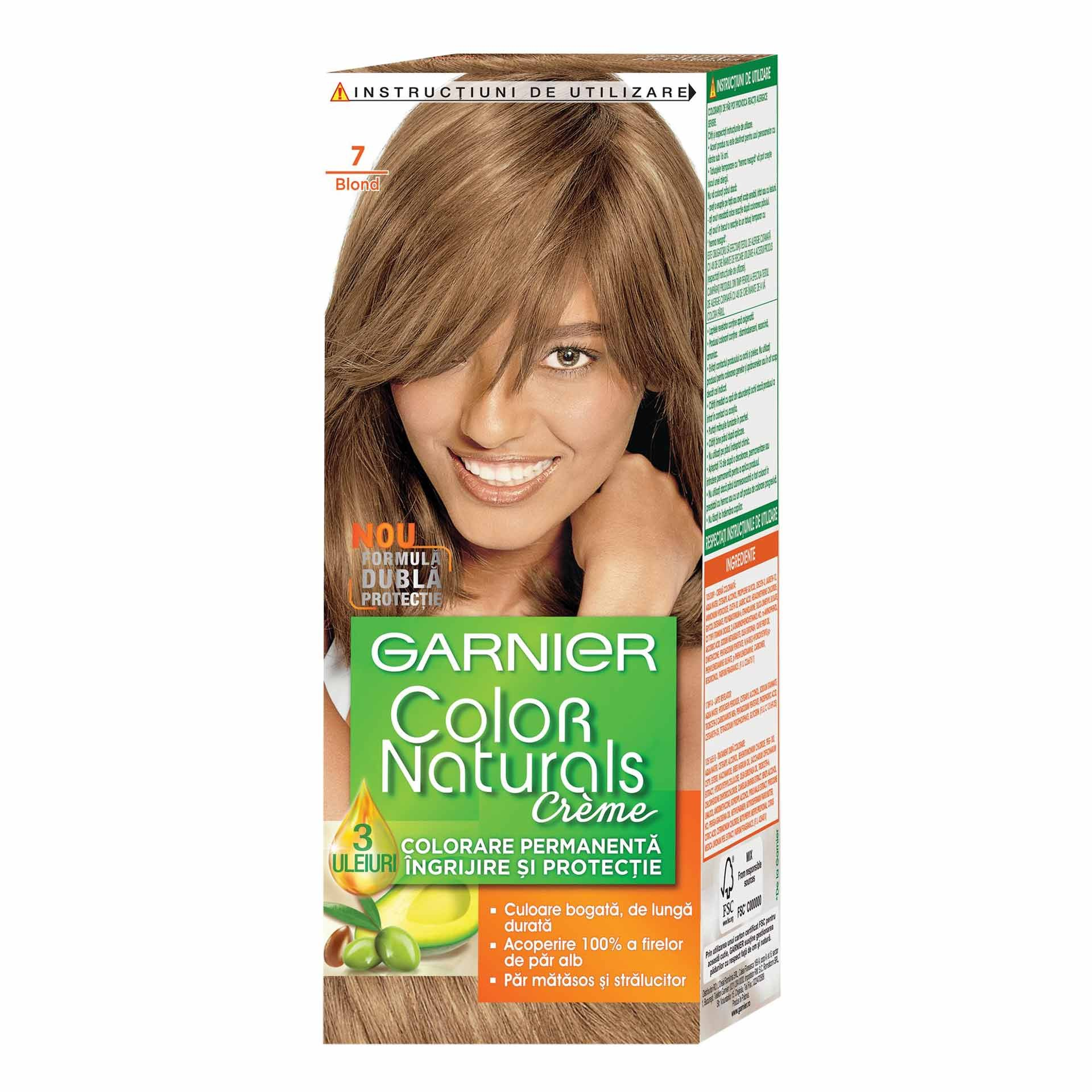 Vopsea Par Garnier Color Naturals 7 Blond Shopidoki