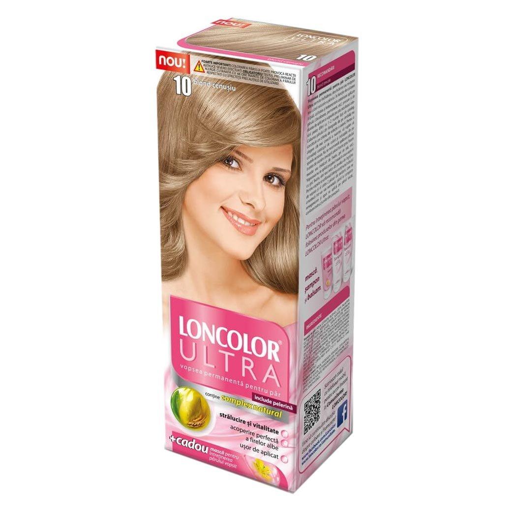 Vopsea Par Loncolor 10 Blond Cenusiu Shopidoki