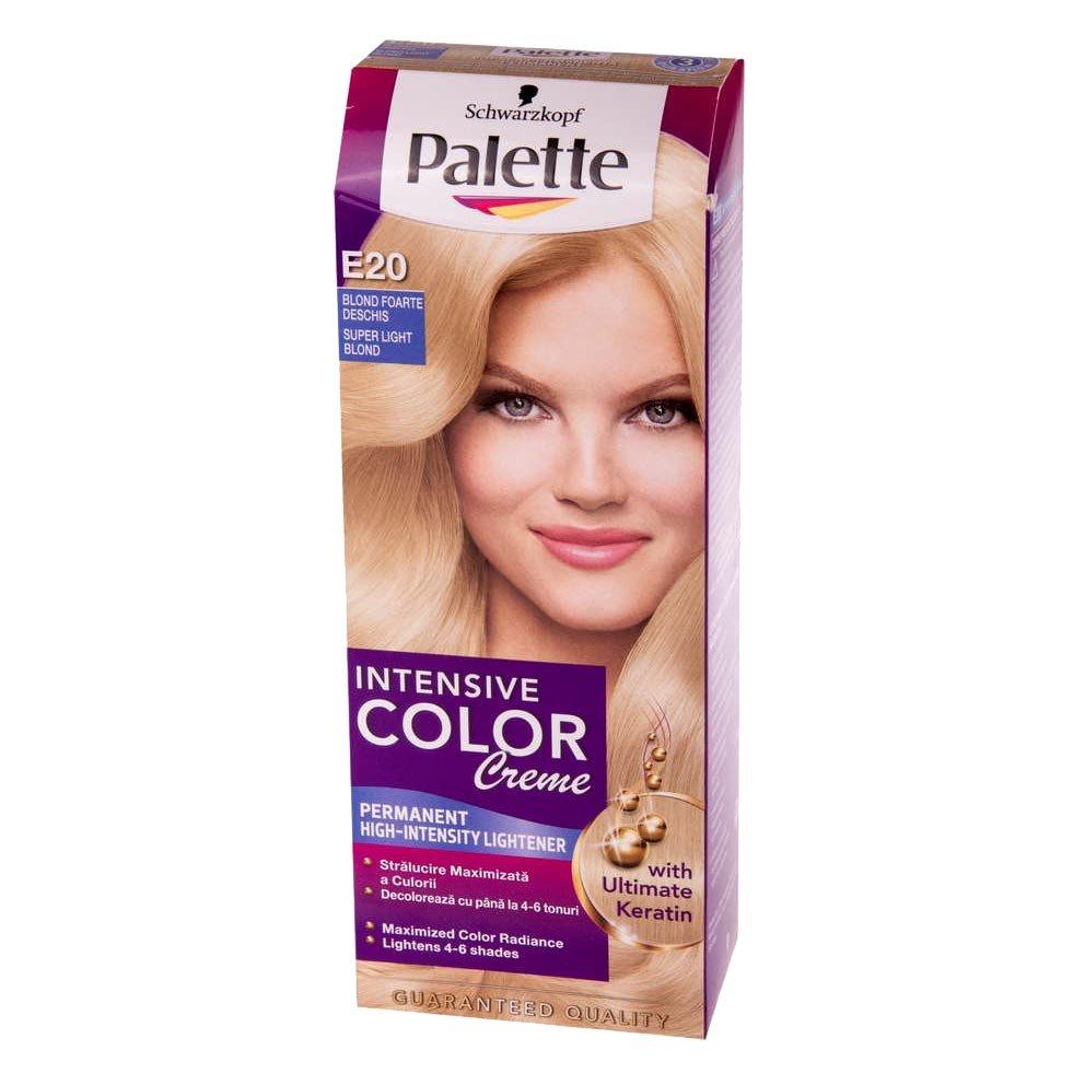 Vopsea Par Palette Intensive Color Creme E20 Blond Super Deschis